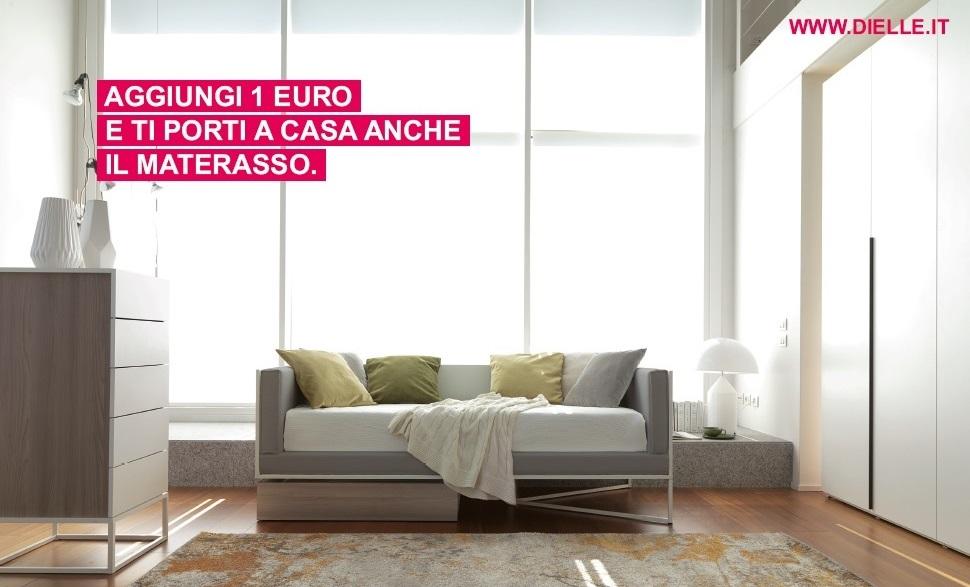 Offerta materasso Omaggio Dielle da Konvert Arredamenti Torino