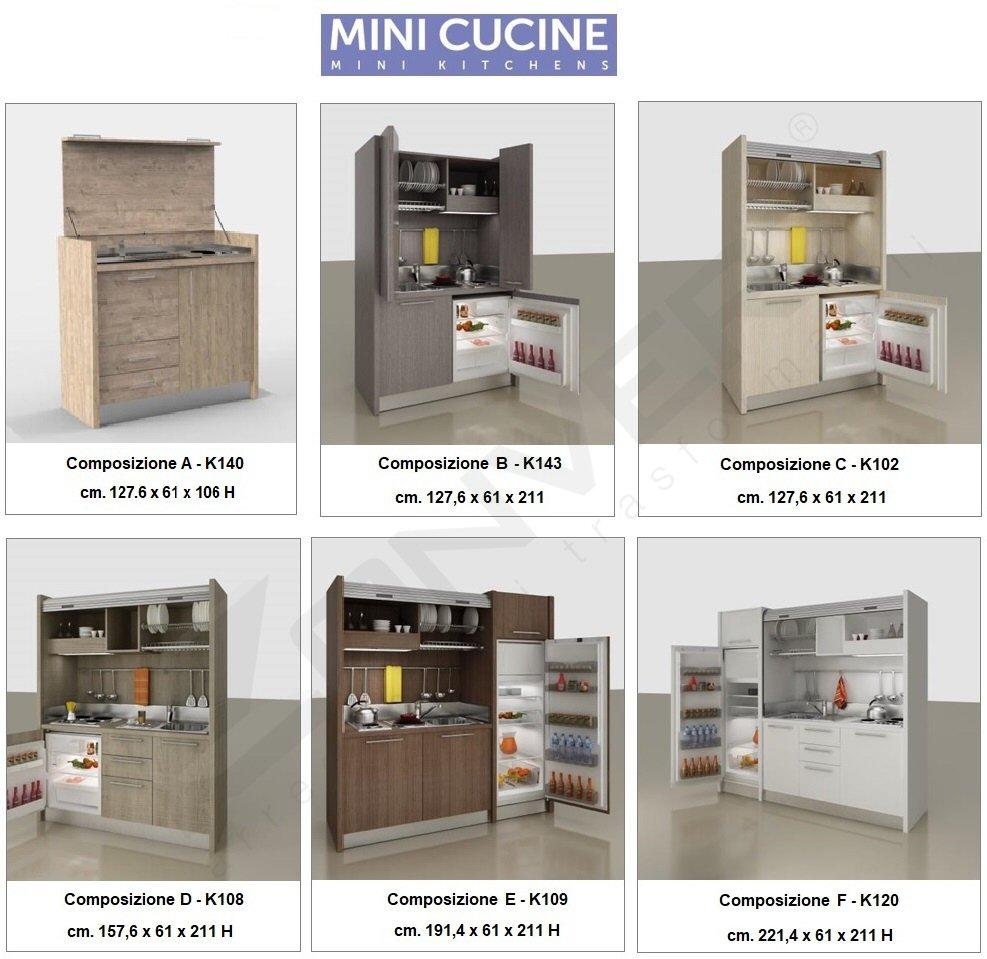 Cucine a scomparsa monoblocco a Torino