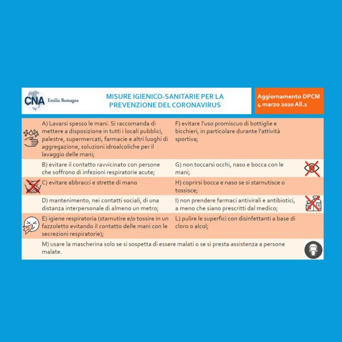 #IORESTOACASA Decreto per Emergenza sanitaria in Italia Coronavirus Covid-19