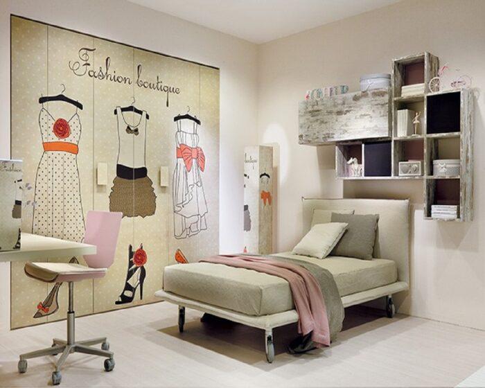 Camere per ragazze Torino Tumidei Konvert Arredamenti