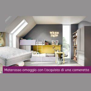 Cameretta su misura con materasso OMAGGIO a Torino