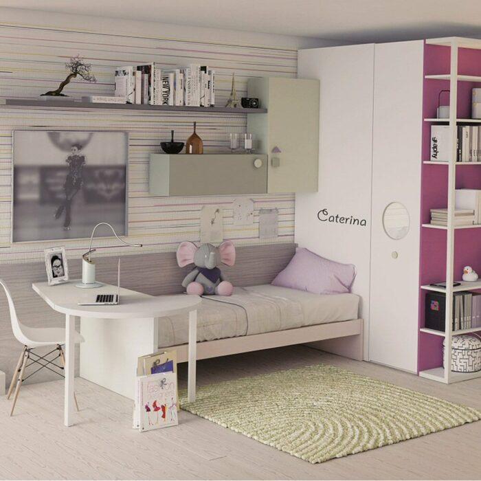 Camerette per bambini e camere per ragazzi DIELLE Gruppo Doimo a Torino