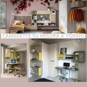 Progettazione Camerette Ferri Mobili Su misura Stesso prezzo a Torino