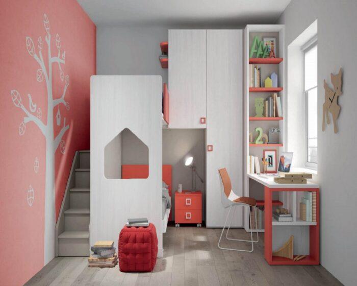 Camerette Torino Konvert Mistral Gruppo Homes Letto a castello a soppalco