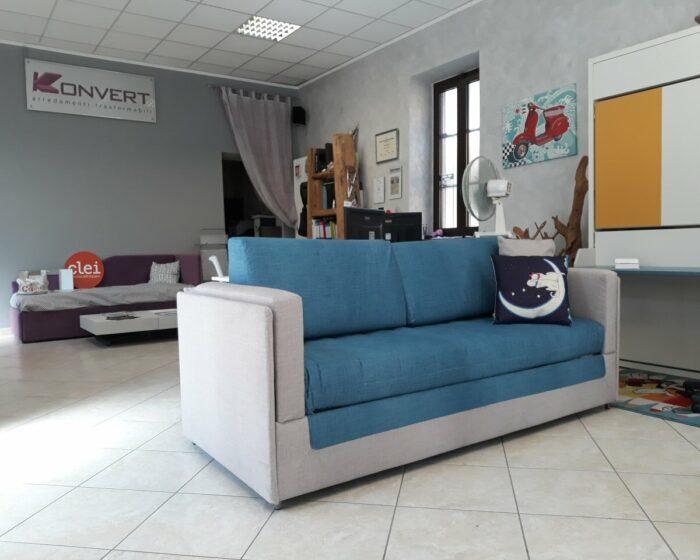 OUTLET Divano trasformabile in letto a castello COUPE' Dienne Salotti