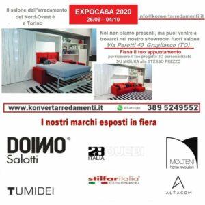 EXPOCASA 202 a Torino Konvert Arredamenti Trasformabili