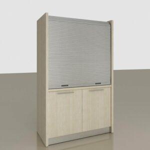 Comp. C Monoblocco cucina a scomparsa per mini appartamenti, alberghi, monolocali e case vacanza al mare e in montagna