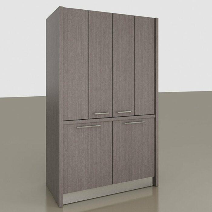 Comp. B Monoblocco cucina a scomparsa per mini appartamenti, alberghi, monolocali e case vacanza al mare e in montagna