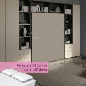 PROMOZIONE Letto matrimoniale a scomparsa in pronta consegna a Torino
