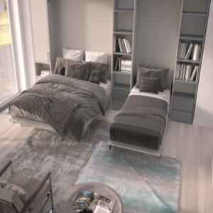 Armadio letto a scomparsa BASIC MAXI 180 Drs Fratelli Spinelli