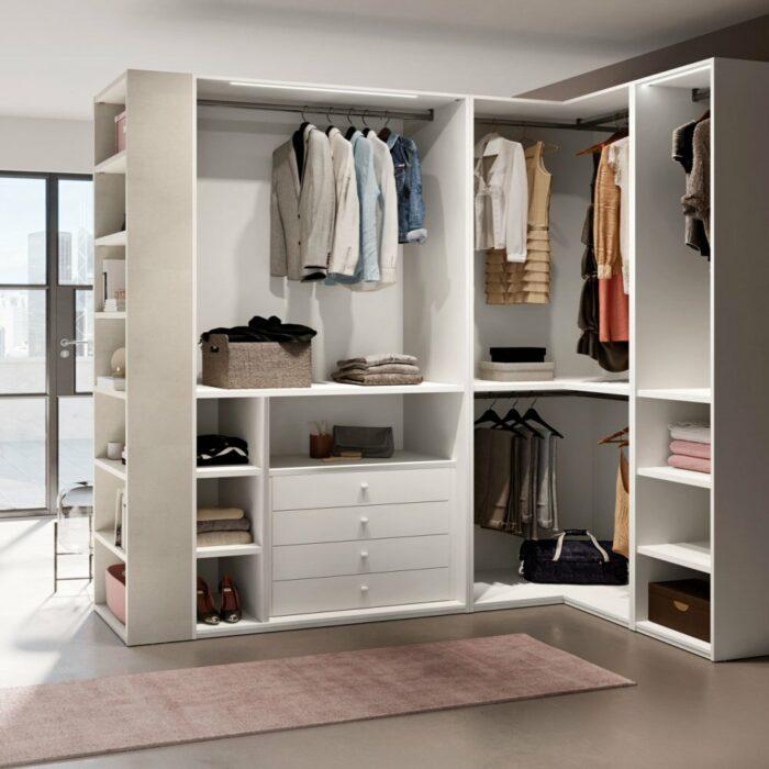 Camerette Torino con letto contenitore e cabina armadio