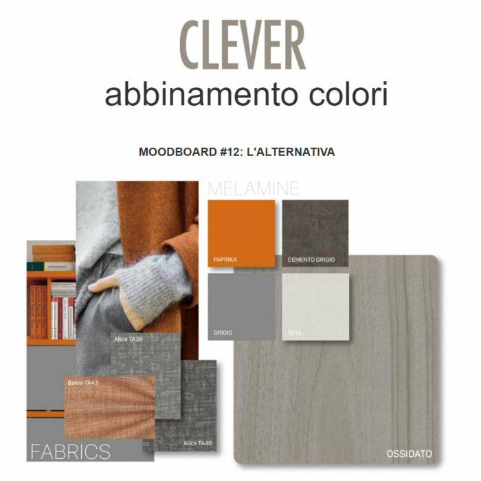 Abbinamento colori CLEVER Moodboard
