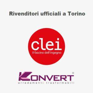 Rivenditori ufficiali letti a scomparsa e camerette CLEI a Torino