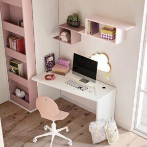 Camere per ragazzi con zone studio adatte alla DAD