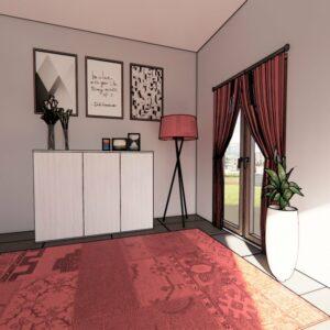 Madia porta TV per soggiorno in offerta da Konvert Arredamenti a Torino